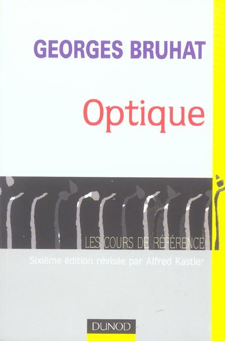 Optique - 6eme Edition