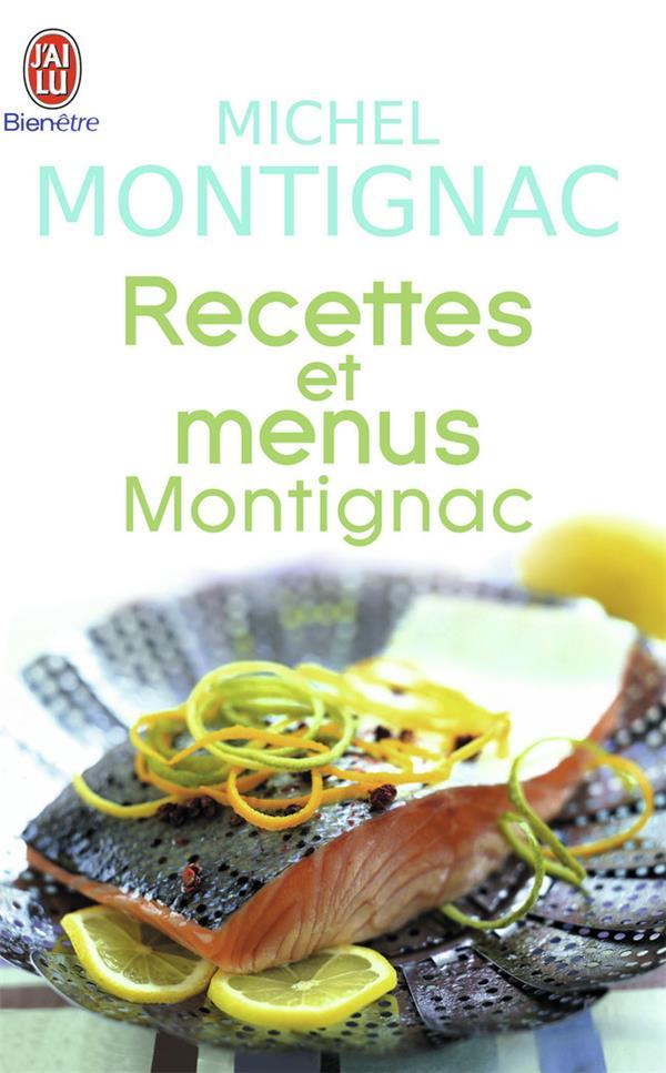 Recettes Et Menus Montignac
