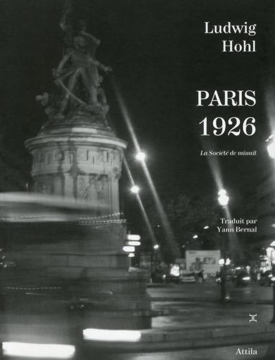 PARIS 1926, LA SOCIETE DE MINUIT