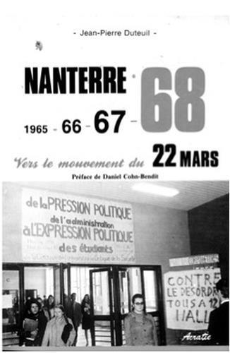 NANTERRE 68, VERS LE MOUVEMENT DU 22 MARS