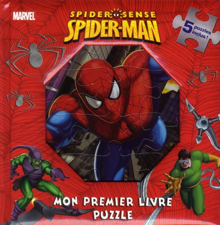 Mon Premier Livre Puzzle; Spiderman