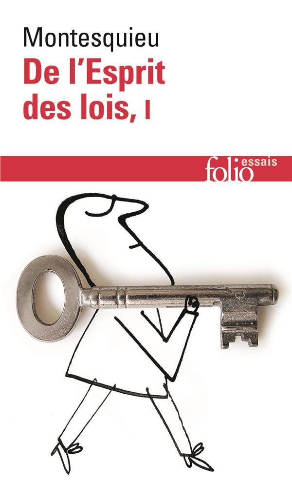 DE L'ESPRIT DES LOIS  T1