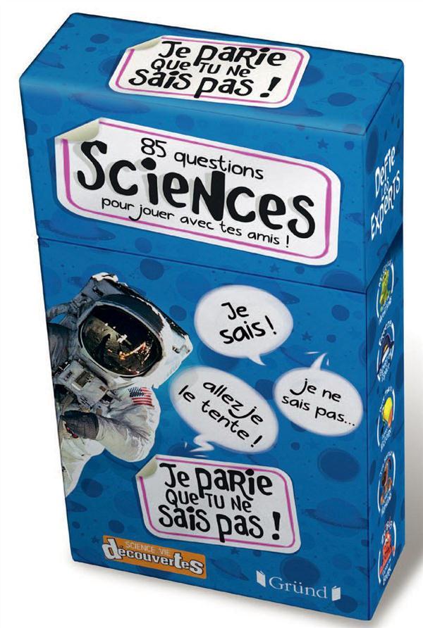 85 Questions ; Sciences Pour Jouer Avec Tes Amis !