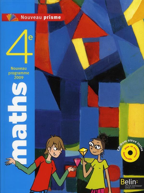 Nouveau Prisme; Mathematiques ; 4eme ; Livre De L'Eleve (Edition 2011)