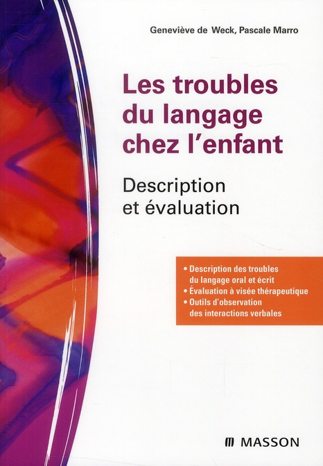 Les Troubles Du Langage Chez L'Enfant ; Description Et Evaluation