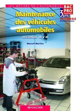 Maintenance Des Vehicules Automobiles Sde Bac Pro