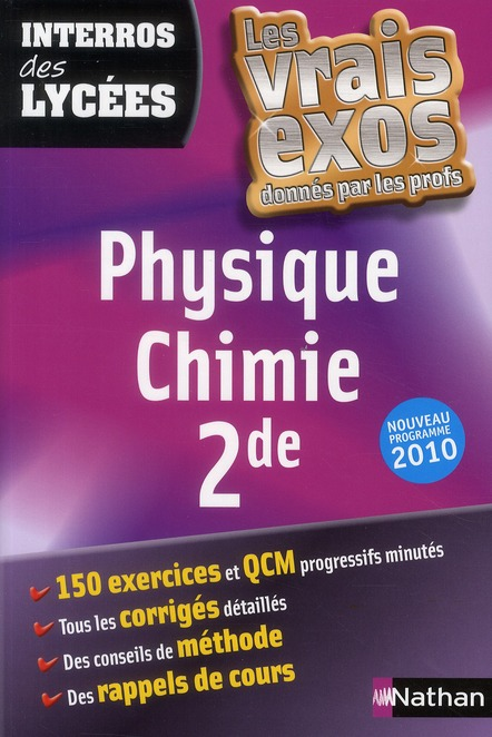 Physique-Chimie ; Seconde (Edition 2010)