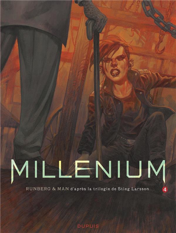 Millenium. 4, la fille qui rêvait d'un bidon d'essence et d'une allumette : seconde partie / Sylvain Runberg | Runberg, Sylvain (1971-....)