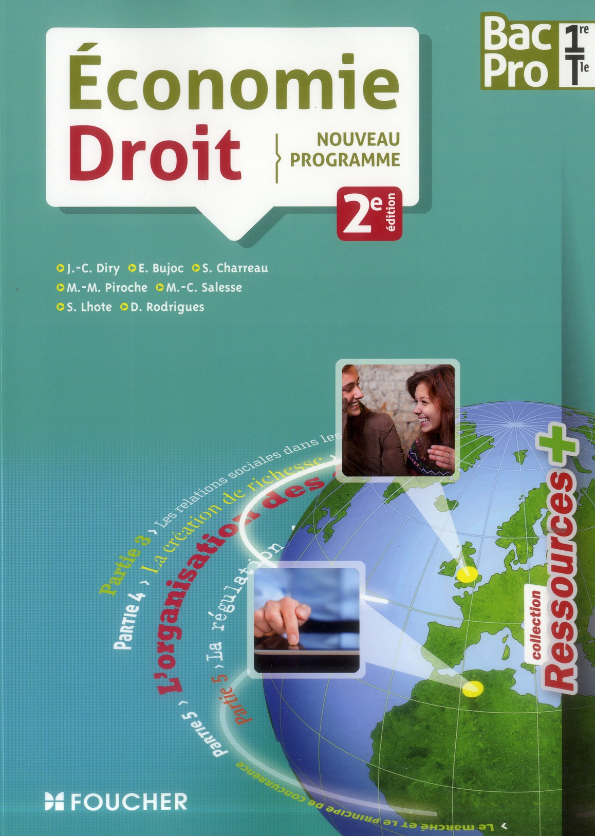 Ressources +; Economie/Droit ; 1ere, Terminale Bac Pro