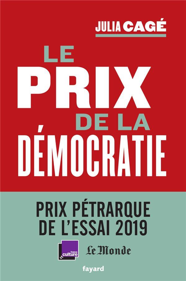 LE PRIX DE LA DEMOCRATIE