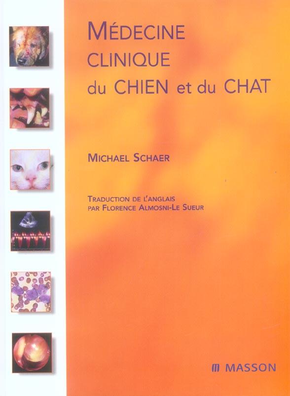 Medecine Clinique Du Chien Et Du Chat
