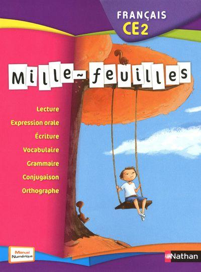 Mille-Feuilles; Francais ; Ce2 ; Manuel (Edition 2011)