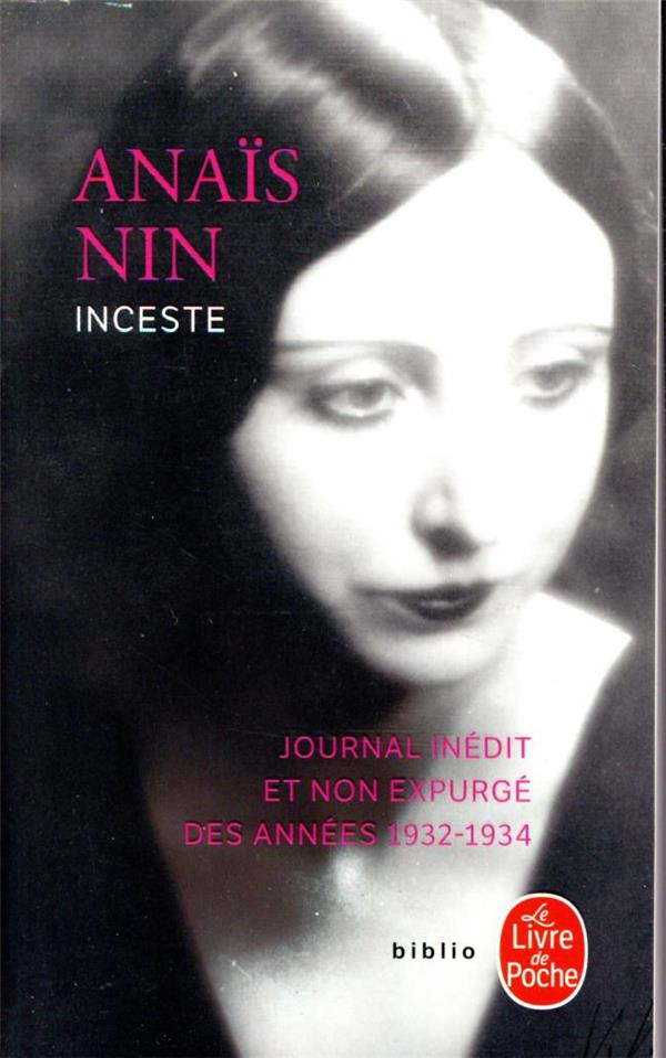 INCESTE (JOURNAL NON EXPURGE)