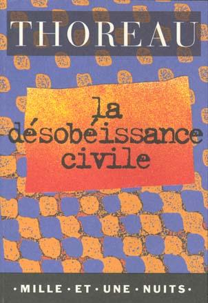 La Desobeissance Civile