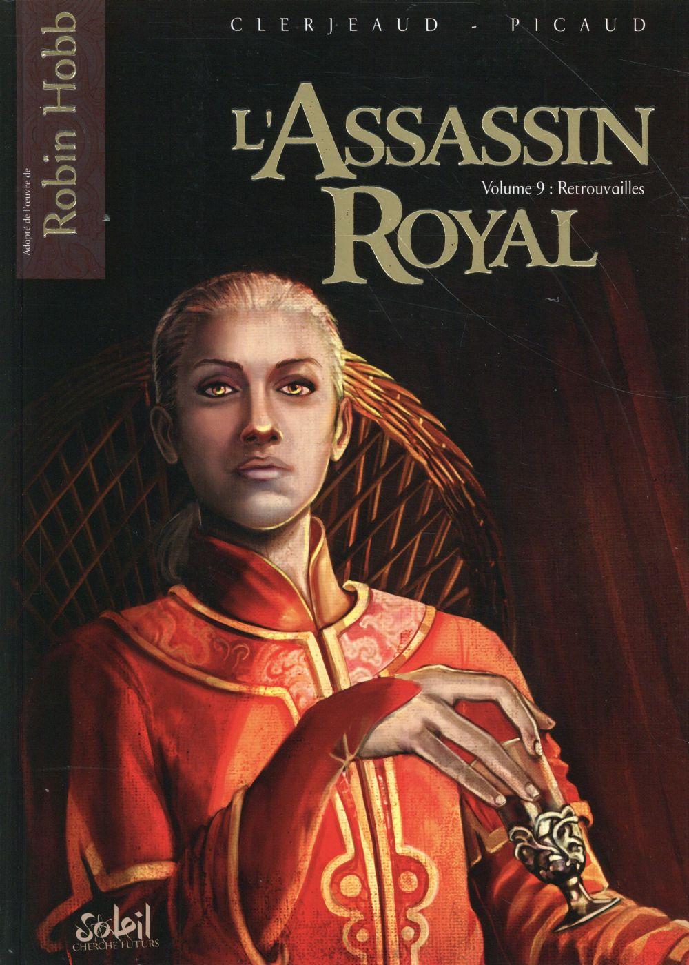 L' assassin royal. 9, retrouvailles / Jean-Luc Clerjaud | Clerjeaud, Jean-Luc