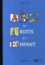 Couverture de ABC des droits de l'enfant