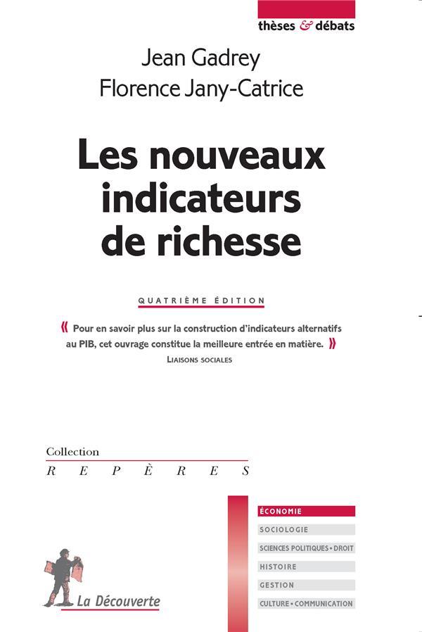 Les nouveaux indicateurs de richesse (4e édition)