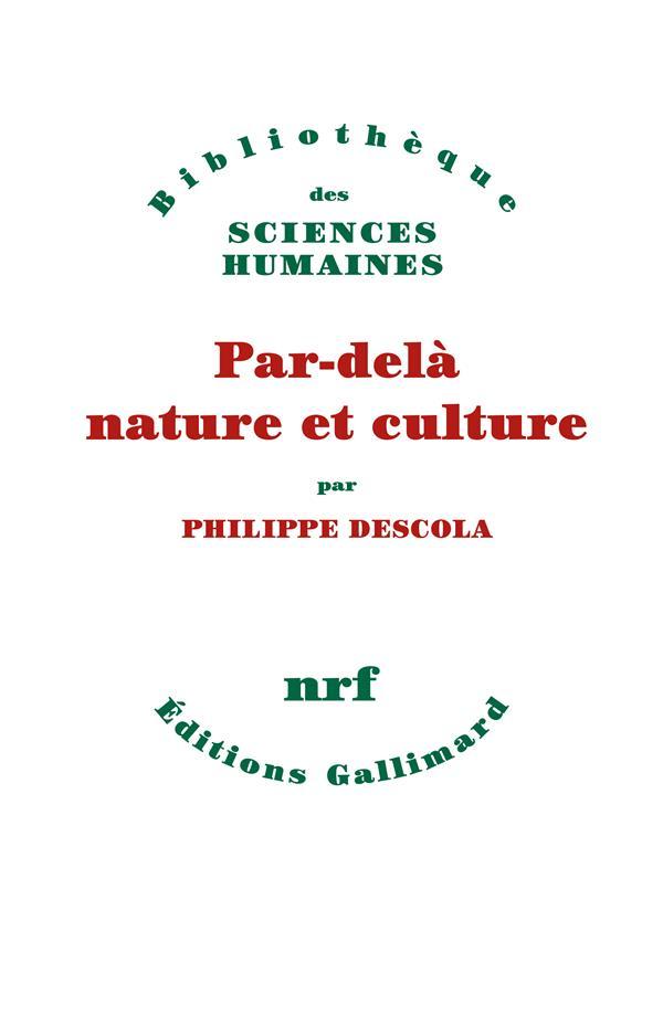 PAR-DELA NATURE ET CULTURE