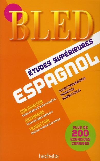 Bled; Espagnol ; Classe Prepas