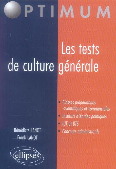 Les Tests De Culture Generale