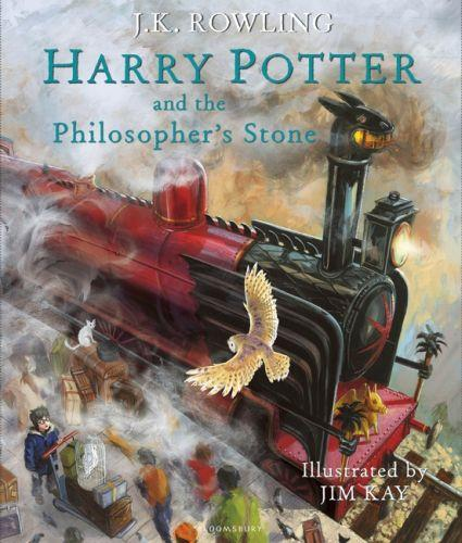Harry potter and the philosopher's stone t.2 ; illustrated edition