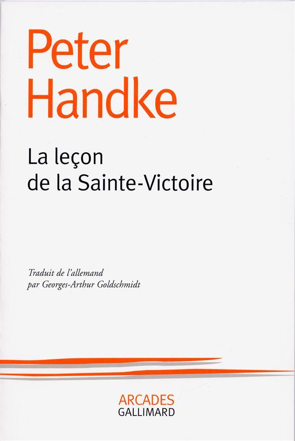LA LECON DE LA SAINTE-VICTOIRE                                   (CEZANNE)