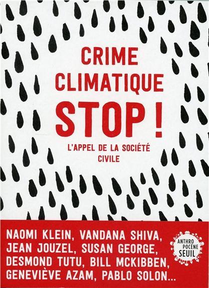 Crime climatique,  stop !