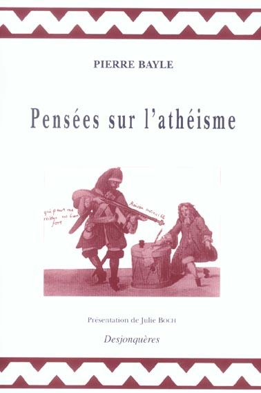 PENSEES SUR L'ATHEISME