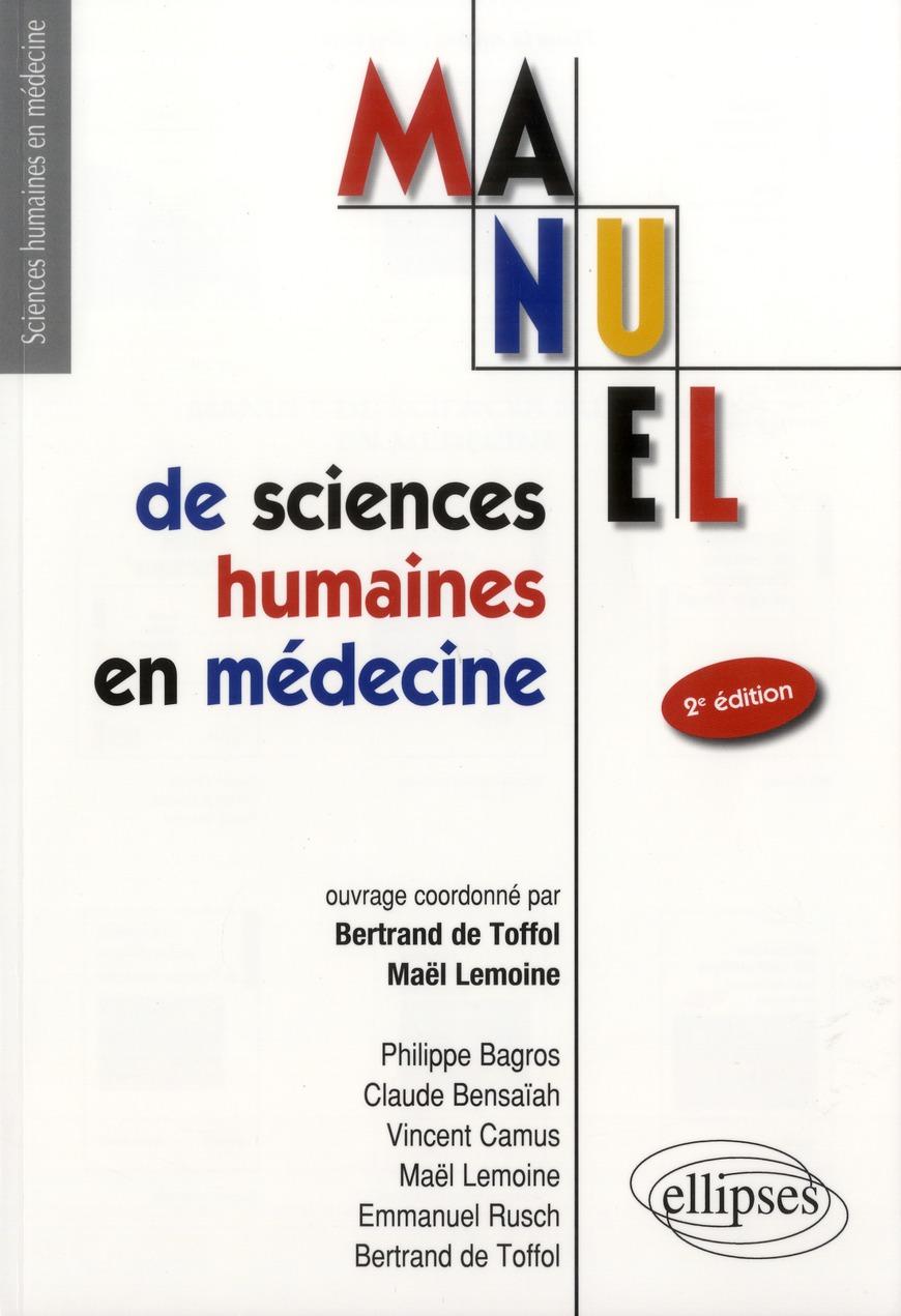Manuel De Sciences Humaines En Medecine Ue7 2eme Edition