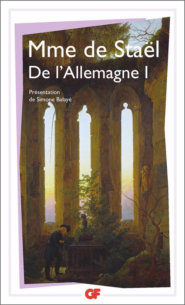 DE L'ALLEMAGNE 1