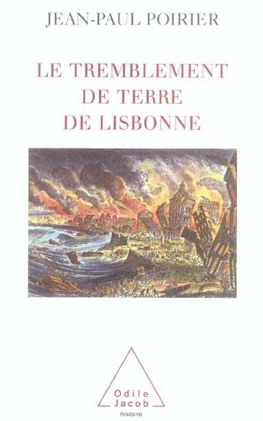 LE TREMBLEMENT DE TERRE DE LISBONNE