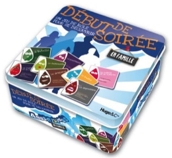 Debut De Soiree ; Un Jeu De Role Pour Se Decouvrir En Famille