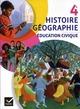 Histoire, géographie, éducation civique ; 4ème