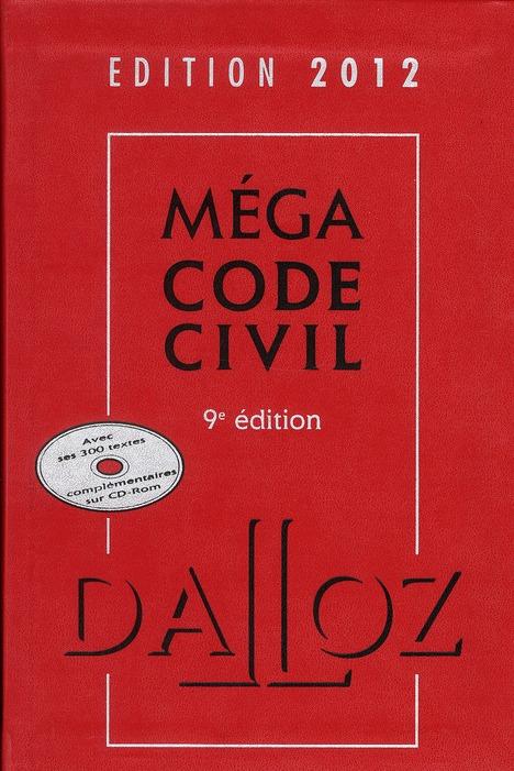 Mega Code Civil (Edition 2012)