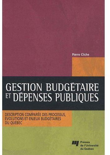 Gestion Budgetaire Et Depenses Publiques