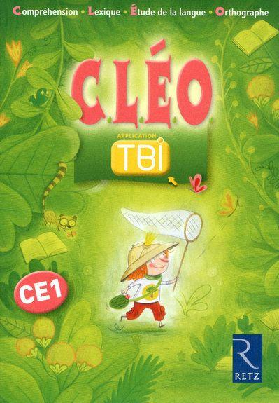 C.L.E.O.; Francais ; Ce1 ; Application Tbi (Edition 2010)