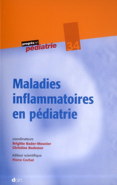 Maladies Inflammatoires En Pediatrie - N34
