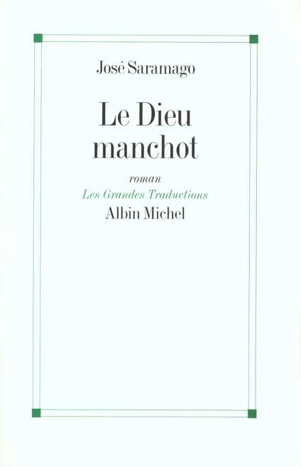 LE DIEU MANCHOT