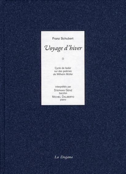LE VOYAGE D'HIVER (LIVRE + CD)