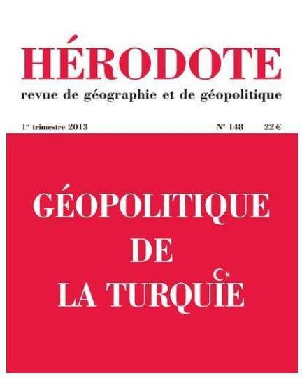 HERODOTE 148 : GEOPOLITIQUE DE LA TURQUIE