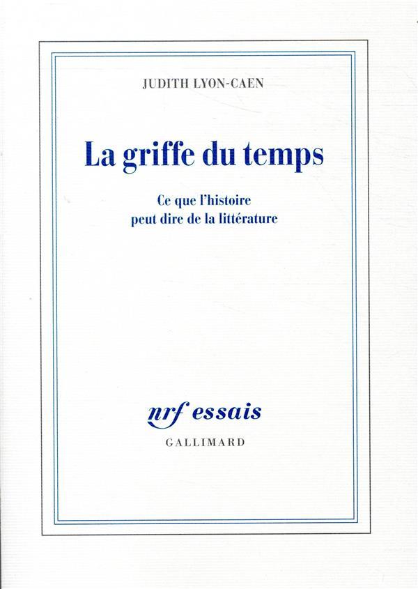 LA GRIFFE DU TEMPS