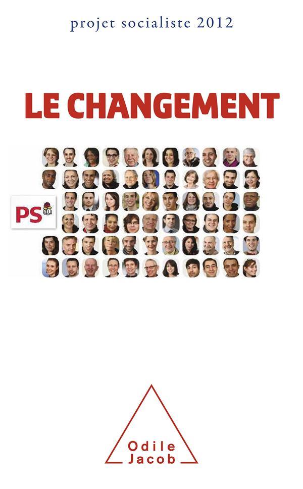 Le Changement ; Projet Socialiste 2012