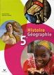 Histoire-géographie ; 5ème ; livre de l'élève