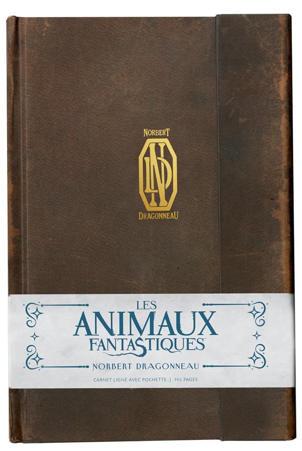 Carnet ligne ; les animaux fantsatiques ; Norbert Dragonneau