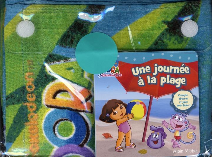 Dora L'Exploratrice ; Une Journee A La Plage ; Coffret