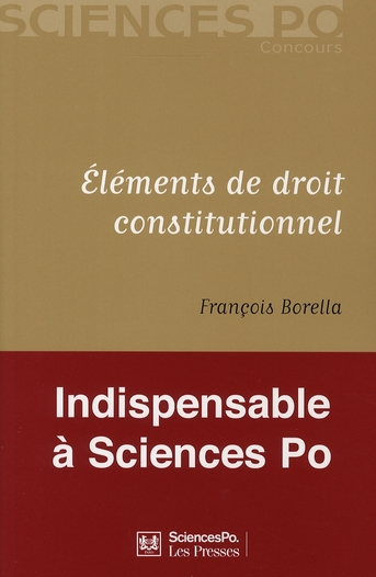 Elements De Droit Constitutionnel