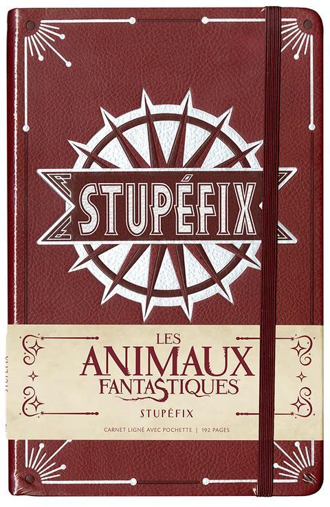 Carnet ligne ; les animaux fantastiques ; stupefix