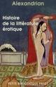 HISTOIRE DE LA LITTERATURE EROTIQUE