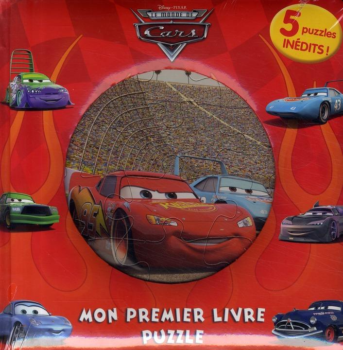 Mon Premier Livre Puzzle; Cars