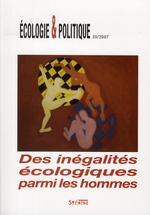 Couverture de REVUE ECOLOGIE ET POLITIQUE N.35 ; des inégalités écologiques parmi les hommes